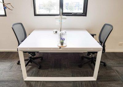 Coworking - Two Desk Pod Window